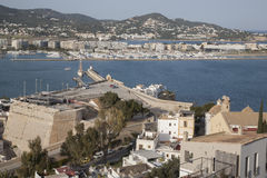 View of Ibiza Harbor Royalty Free Stock Photos