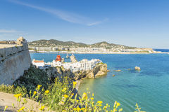 View in ibiza Royalty Free Stock Images