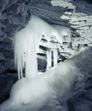 The Ice cave Royalty Free Stock Images