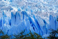 Perito Moreno Glacier view in a sunny day royalty free stock photo
