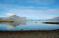 View on the Icelandic bay Stock Image