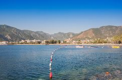 View of Ichmeler near Marmaris. Turkey Stock Images