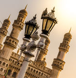 View of the iconic Charminar building Royalty Free Stock Photos