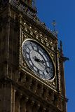 View of the Iconic Clock Face of Big Ben at the Houses of Parlia Stock Photos