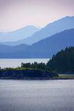 View of Icy Strait, Alaska Stock Photography