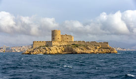 View of If castle in Mediterranean sea - France Royalty Free Stock Photo