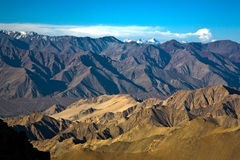 A view if Himalayan range from Highest motorable road of the World to KhardungLa pass, Ladakh, India. Stock Photos