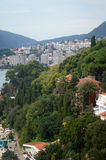View Igalo. View of the area of Igalo from  Herceg Novi (Montenegro Stock Photos