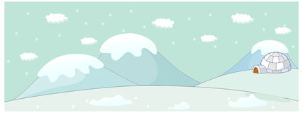 The view of Igloo Stock Images