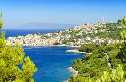 View on Igrane in Makarska Riviera, Dalmatia, Croatia Stock Photography