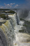 View of the Iguazu Falls Royalty Free Stock Photography