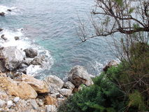 View from ikaria Stock Image