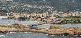 View of Ile Rousse Stock Photos