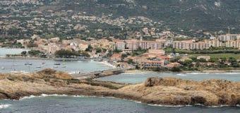 View of Ile Rousse Stock Photos
