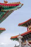 View images of Chinese temple Stock Photography