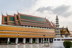View images of Thai temple Stock Photography
