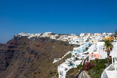 View of Imerovigli, Santorini Royalty Free Stock Photo