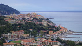 View of Imperia/Italy. Spectacular view of the Imperia/Italy Royalty Free Stock Photo