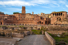 View Of Imperial Forums, Rome Stock Image