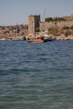 View of Important Historic Landmark, Bodrum Castle from Mugla, T Stock Photography