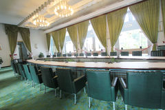 View of Independence Palace in Ho Chi Minh Royalty Free Stock Image