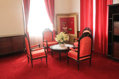 View of Independence Palace in Ho Chi Minh Royalty Free Stock Photo