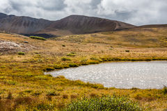 View on Independence Pass, Colorado Royalty Free Stock Images