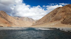 View from Indian himalayas Royalty Free Stock Photography