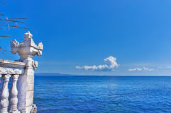View of Indian Ocean. View of Indian Ocean, Bali island, Indonesia Royalty Free Stock Images