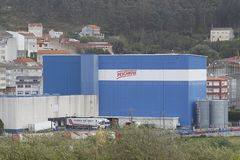 View of the industrial facilities of the Nueva Pescanova