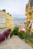 View from the Inner Castle (Ic Kale), Alanya, Turkey Stock Image