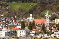View of Innsbruck, Austria Stock Photography