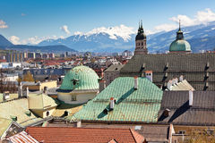View of Innsbruck, Austria Royalty Free Stock Photos