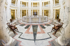 View of the inside of the boise capital. Building Royalty Free Stock Photos