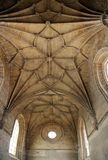 Convent of Christ. View of the inside ceiling of the beautiful Convent of Christ in Tomar, Portugal Stock Photography
