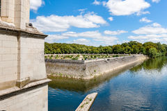 View from inside of Chateau de Chenonceau, France Stock Images