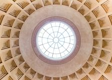 Dome of National Gallery of Art, Washington DC royalty free stock photo