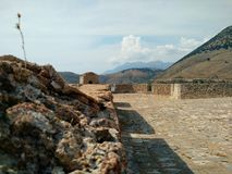 Porto Palermo Castle royalty free stock images
