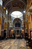 Inside Mdina Cathedral, Malta. Stock Photo