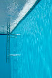 View from inside of swimming pool. Royalty Free Stock Photography