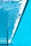 View from inside of swimming pool. Stock Photo