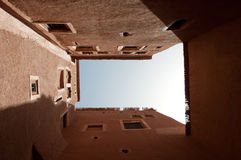 View inside Taourirt Kasbah Royalty Free Stock Photo