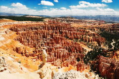 A  view of inspiration point,bryce Stock Photography