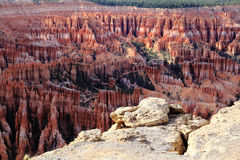 Bryce Canyon. View from Inspiration Point to catch Bryce Canyan panoramic landscape Stock Images