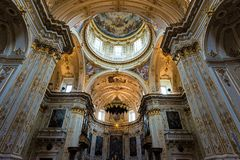 Church in Italy stock photography