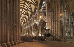 Lichfield Cathedral Interior Stock Photo