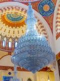 Interiors of the Mohammad Al-Amin Mosque, Beirut, Lebanon. View of the interiors of the Mohammad Al-Amin Mosque Stock Photo
