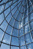 View from internal of glass construction Stock Photo