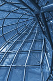 View from internal of glass construction Royalty Free Stock Images