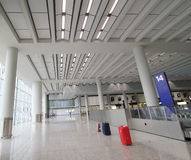 View of International airport in Hong Kong Stock Photography